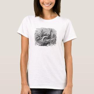 Vintage Springbok Antelope Gazelle Personalized T-Shirt