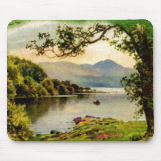 Vintage St. Paddy's By the Lake Mouspad Mouse Pad
