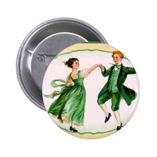 Vintage St Patrick s Dat Button