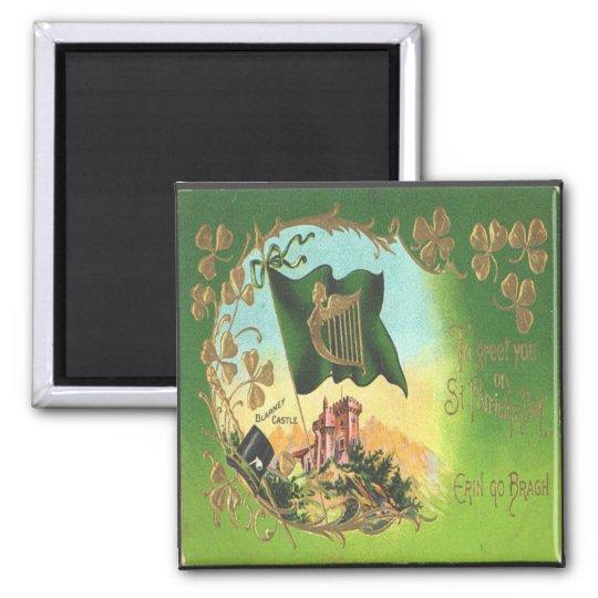 Vintage St Patricks Day 1 Magnet