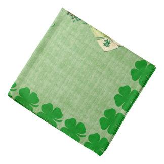 Vintage St. Patricks Day Bandana