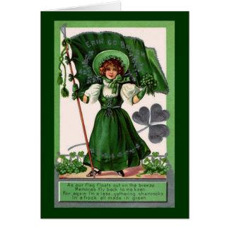 Vintage St. Patrick's Day Erin Go Bragh Cards