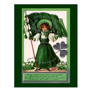Vintage St. Patrick's Day Erin Go Bragh Postcards