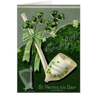 Vintage St Patricks Day Greeting Card No 23