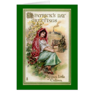 Vintage St. Patrick's Day Greeting Cards