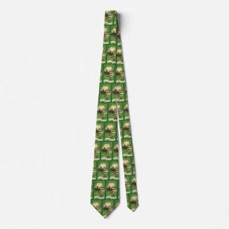 Vintage St. Patricks Day Greetings Castle Shamrock Tie