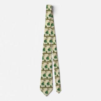 Vintage St. Patrick's Day Lass, Lucky Shamrocks Tie