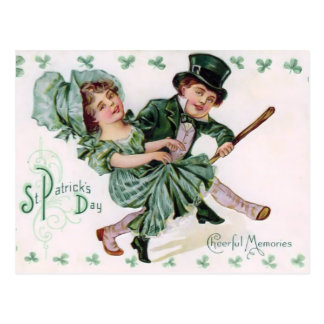 Vintage St. Patrick's Day Post Card