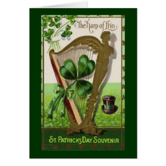 Vintage St. Patrick's Day Souvenir Greeting Cards