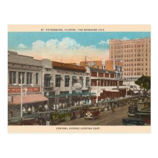 Vintage St. Petersburg Florida Postcard