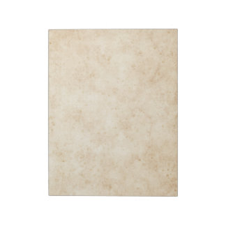 Vintage stained old parchment paper look notepad