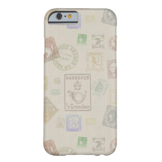 Vintage Stamp Art Case Barely There iPhone 6 Case