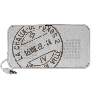 Vintage Stamps portable speaker