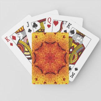 Vintage Star Mandala Playing Cards
