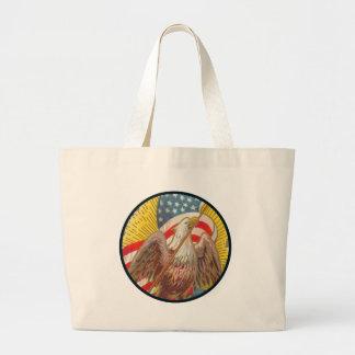 Vintage_Star Spangled Banner_Bag Jumbo Tote Bag