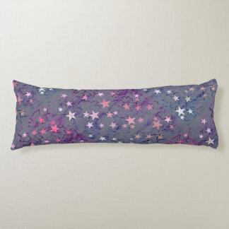 Vintage Stars on Blue Body Cushion