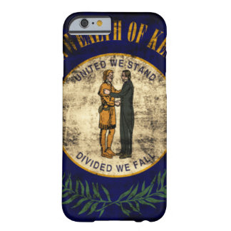 Vintage State Flag of Kentucky Barely There iPhone 6 Case