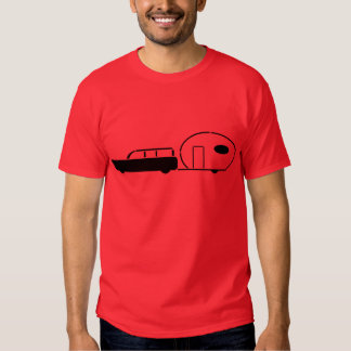 Vintage Station Wagon and RV Trailer T Shirts