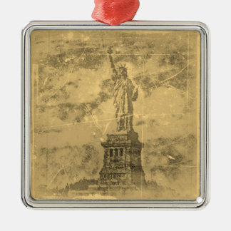 Vintage Statue Of Liberty, New York #1 - Ornaments