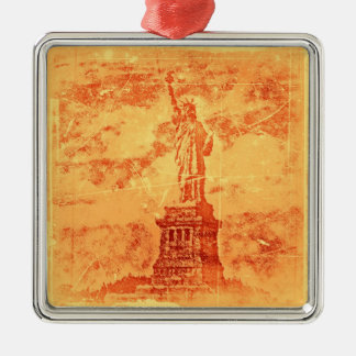 Vintage Statue Of Liberty, New York #2 - Ornaments