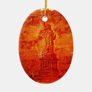 Vintage Statue Of Liberty, New York #3 - Ornaments