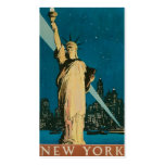 """Vintage """"Statue of Liberty"""" New York City Pack Of Standard Business Cards"""