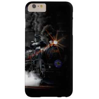 Vintage Steam Engine Black Locomotive Train Barely There iPhone 6 Plus Case