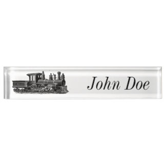 Vintage Steam Engine Name Plate