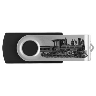 Vintage Steam Engine USB Flash Drive
