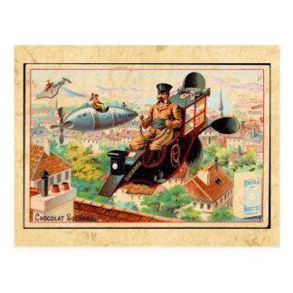 Vintage Steam Punk Advertising Postcard