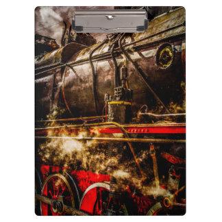 Vintage Steam Train - In Steam Clipboard