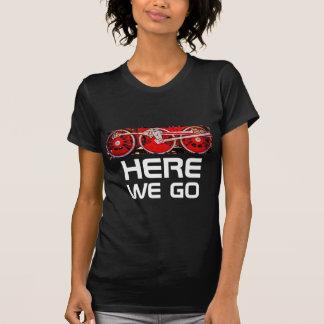 Vintage Steam Train Wheels T-Shirt
