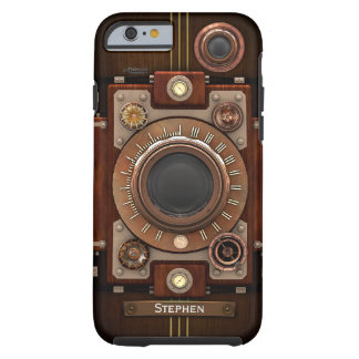 Vintage Steampunk Camera #1C Tough iPhone 6 Case