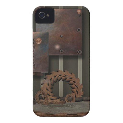 Vintage SteamPunk Gears Case-Blackberry-Bold Blackberry Cases