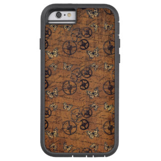 Vintage Steampunk Gears Wallpaper Tough Xtreme iPhone 6 Case
