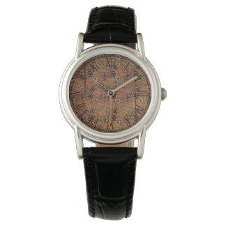 Vintage Steampunk Gears Wallpaper Watch