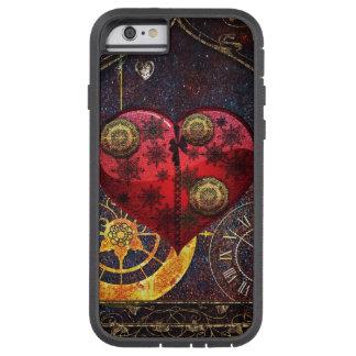 Vintage Steampunk Hearts Wallpaper Tough Xtreme iPhone 6 Case