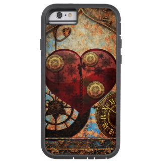 Vintage Steampunk Hearts Wallpaper Tough Xtreme iPhone 6 Case