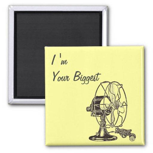 Vintage Steampunk I Am Your Biggest Fan Magnet
