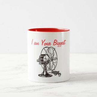 Vintage Steampunk I Am Your Biggest Fan Coffee Mug