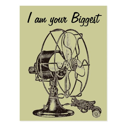 Vintage Steampunk I Am Your Biggest Fan Postcards