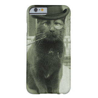 Vintage Steampunk LOL Funny Cat iPhone Case