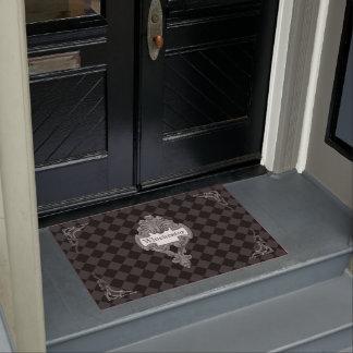 Vintage Steampunk Personalised Doormat