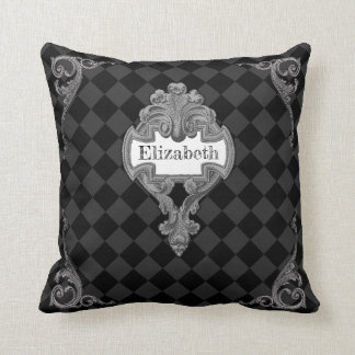 Vintage Steampunk Personalized Cushion