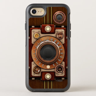 Vintage Steampunk Retro Camera OtterBox Symmetry iPhone 8/7 Case