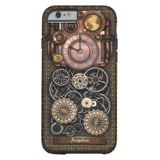Vintage Steampunk Timepiece Redux #2 Tough iPhone 6 Case