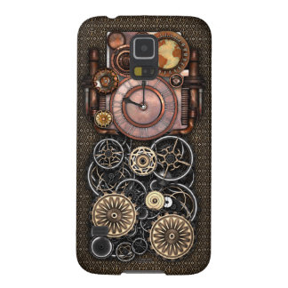 Vintage Steampunk Timepiece Redux Cases For Galaxy S5