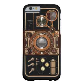Vintage Steampunk TLR Camera #2B Barely There iPhone 6 Case