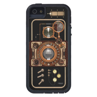 Vintage Steampunk TLR Camera #2B iPhone 5 Cover