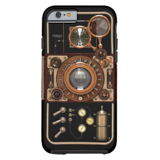 Vintage Steampunk TLR Camera #2B Tough iPhone 6 Case